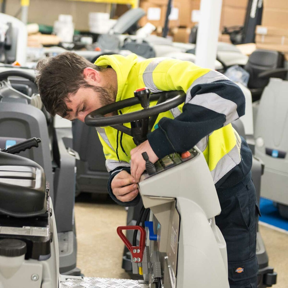 nationwide cleaning machines