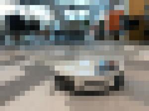 autonomous floor cleaning mini robot